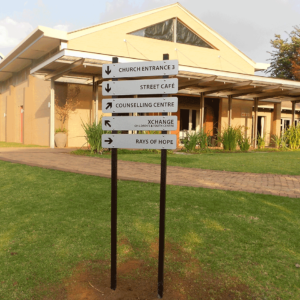 Outdoor Directional Signage - Screenline Screen & Digital Printing