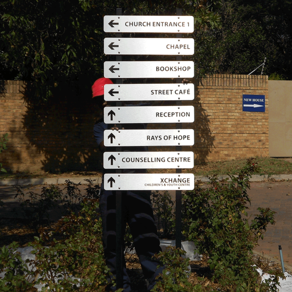 Signage - Directional Signage - ScreenLine Screen & Digital Printing