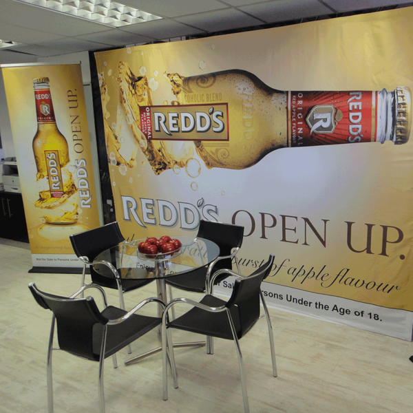 Pull Up Banner and Banner Wall - Screenline Screen & Digital Printing