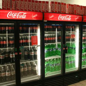 Fridge Branding - Coca Cola - Screenline Screen & Digital Printing