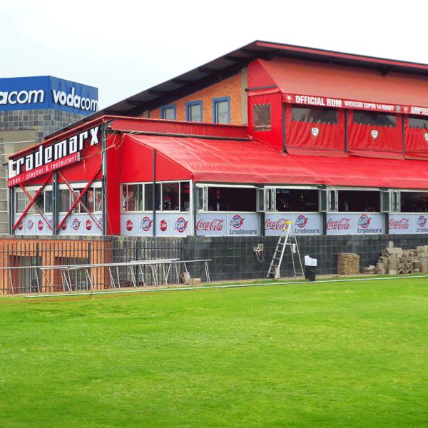 Stadium Branding - Screenline Screen & Digital Printing