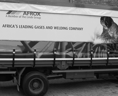 Fleet Branding for Afrox - Screenline Screen & Digital Printing