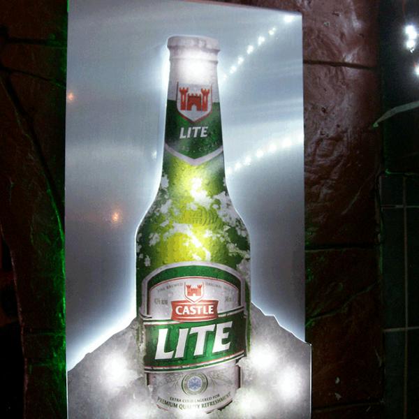 LED Lighting Signage - Castle Lite - Screenline Screen & Digital Printing