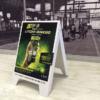 Point of Sale - Sandwich Board - Screenline Screen & Digital Printing