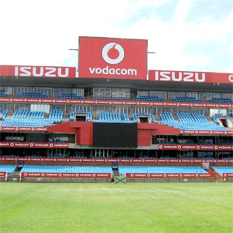 Loftus Vodacom stadium branding