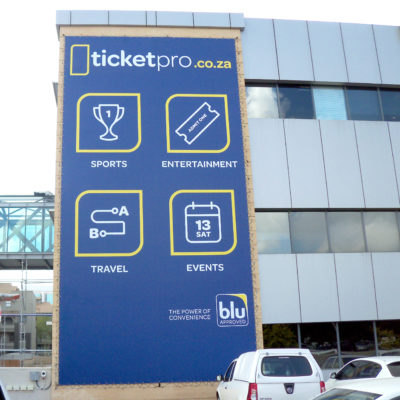 PVC Banner - ticketpro - Screenline