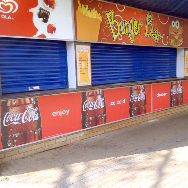 Stadium branding - Coke - Screenline