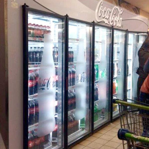 Fridge branding - Coke - Screenline