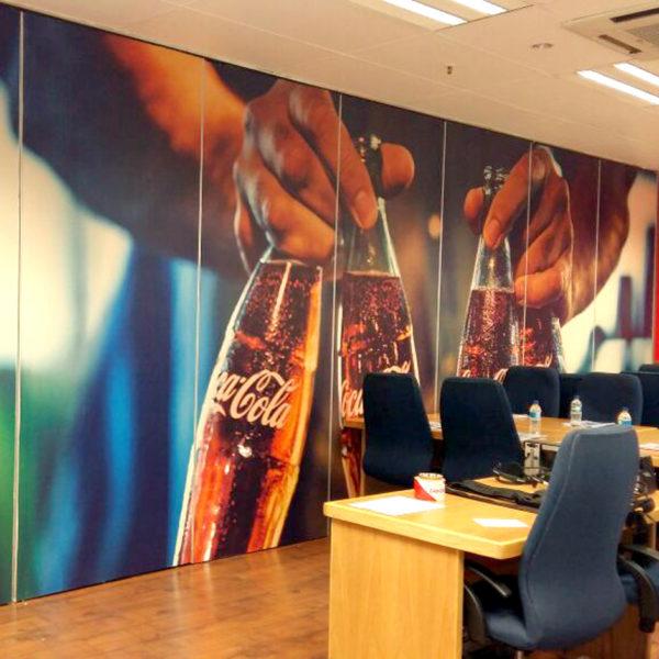 Indoor solutions - Wallpaper - Screenline