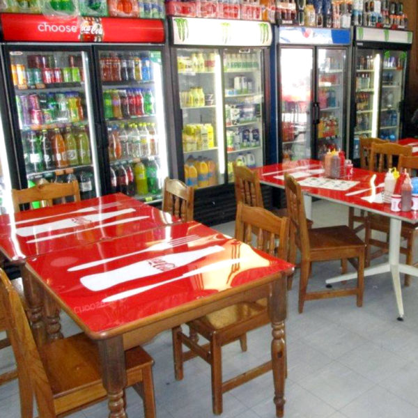 Branded tables - CCBSA - Coke In Store - Screenline