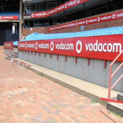 Stadium branding - vodacom - Screenline