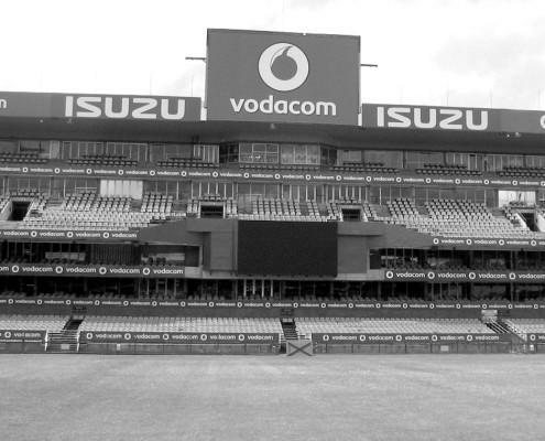 Stadium branding - vodacom Isuzu - Screenline