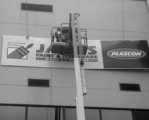 Installations - Jacks Paint